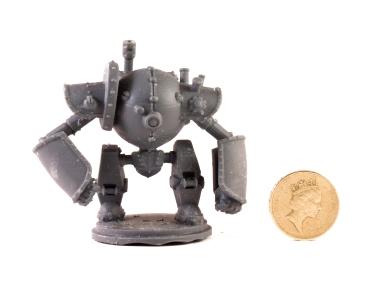 Rivals Cog Automaton 3Dprint scale