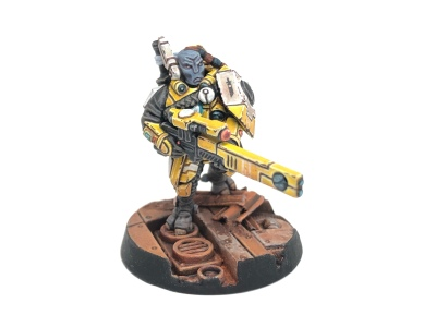 Yello T'au Kill Team Cadre Fireblade Commander