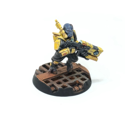 Yellow T'au Kill Team Pathfinder