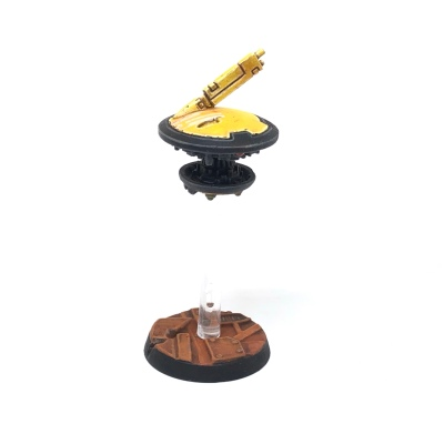 Yellow T'au Kill Team Shield Drone