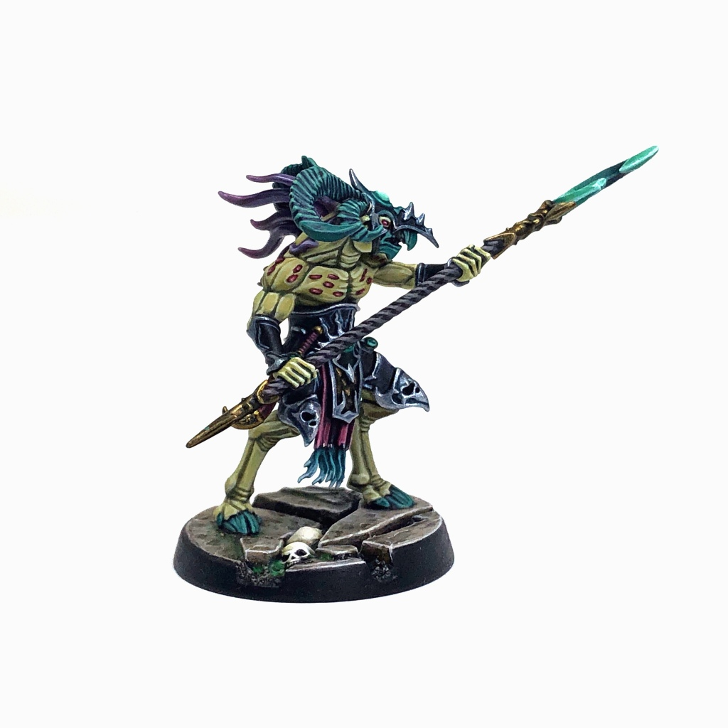 Tzeentch Arcanite Tzaangor Enlightened on foot