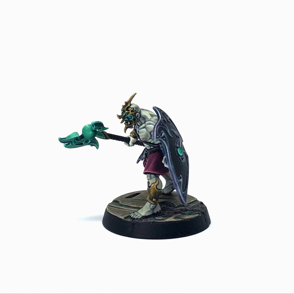 Tzeentch Arcanite Kairic Acolyte with Cursed Glaive